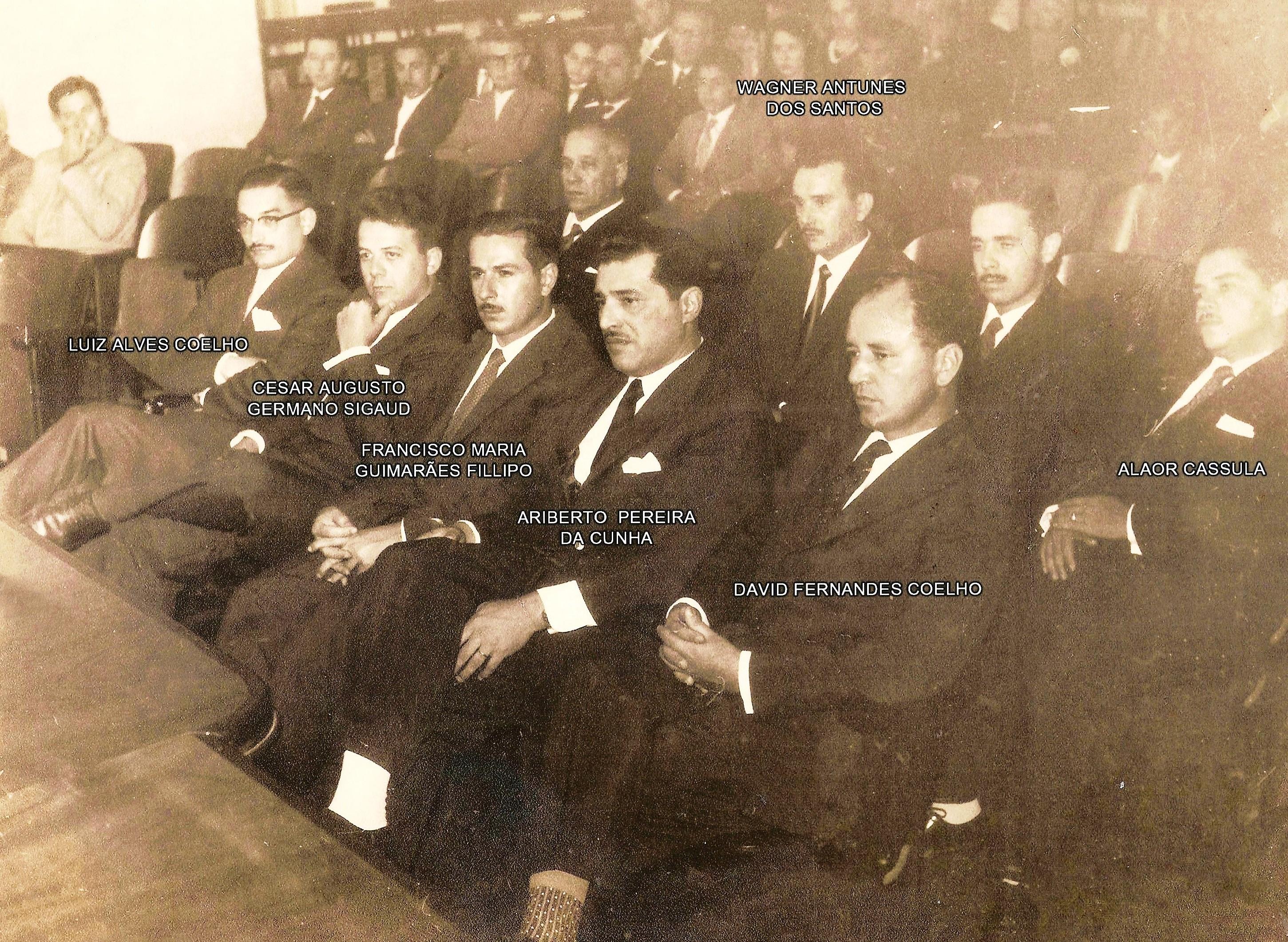 Posse da primeira Diretoria da AGEA - 1959